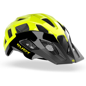 Rudy Project Crossway Helmet black/yellow fluo shiny